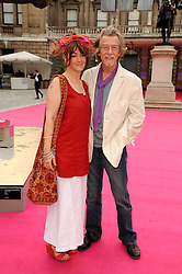 JOHN HURT and Anwen Rees Meyers at the Royal Academy of Arts Summer Party held at Burlington House, Piccadilly, London on 9th June 2010.