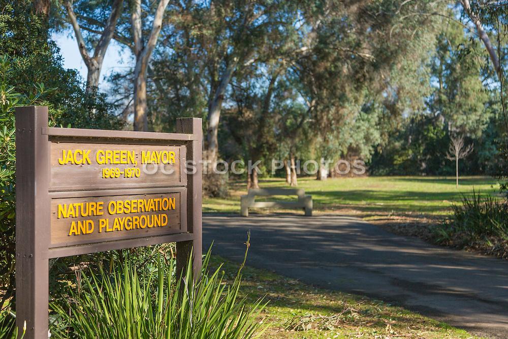Nature Observation and Playground Huntington Beach California