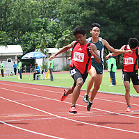 B Division Boys 100m