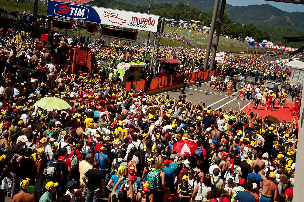 2011 MotoGP World Championship, Round 8, Mugello, Italy, 3 July 2011, Ambience