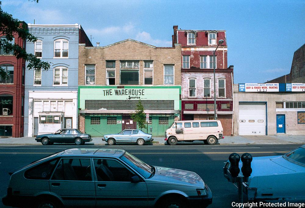 NW Washington DC 1988 The Source Warehouse