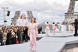 Amber Heard walks the runway of L'Oréal show during the Paris Fashion Week Spring Summer on October 3, 2021 in Paris, France. Photo by Jana Call me J/ABACAPRESS.COM