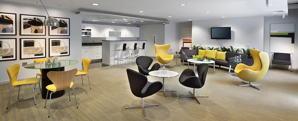 Radius Condominiums 1300 N Street NW Washington,DC 1300 N Street NW Washington DC interior design by Apartment Zero Lobby community room and halls