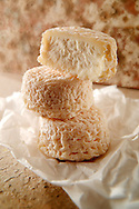 Traditional French goats cheese - chevre.