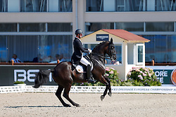 Michiels Domien, BEL, Intermezzo van het Meerdaalhof<br /> European Championship Dressage - Hagen 2021<br /> © Hippo Foto - Dirk Caremans<br /> 08/09/2021