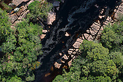 River in forest<br /> Potaro-Siparuni Region<br /> Brazil Guyana border<br /> GUYANA<br /> South America