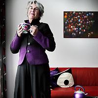 Nederland, Amsterdam , 16 december 2010..Genomineerde Amsterdammer van het Jaar Carita Salome.Foto:Jean-Pierre Jans