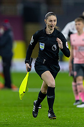 BURNLEY, ENGLAND - Tuesday, December 29, 2020: Assistant referee Sian Massey-Ellis during the FA Premier League match between Burnley FC and Sheffield United FC at Turf Moor. Burnley won 1-0. (Pic by David Rawcliffe/Propaganda)
