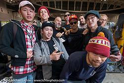 Mooneyes Yokohama Hot Rod & Custom Show. Yokohama, Japan. December 6, 2015.  Photography ©2015 Michael Lichter.