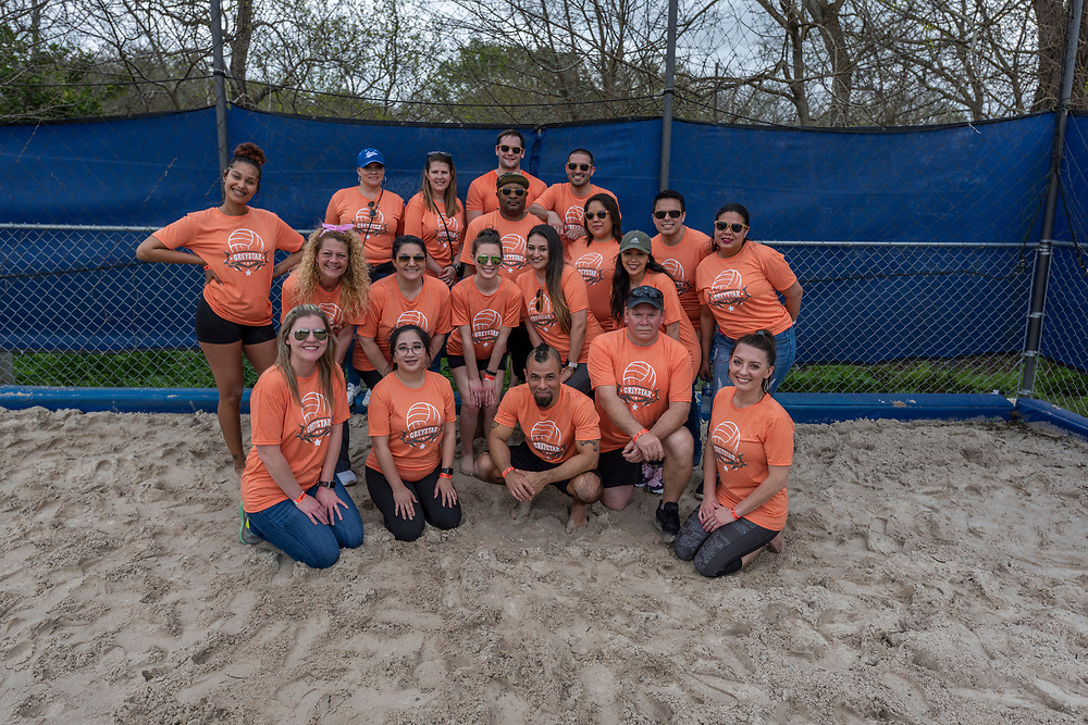 The 2019 Houston Apartment Association Volleyball Tournament was held on Friday, March 8, 2019, at the Houston Sportsplex and included 40 teams competing for fame, glory, and a trophy.