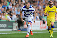 Jake Bidwell of QPR looks on. Skybet EFL championship match, Queens Park Rangers v Leeds United at Loftus Road Stadium in London on Sunday 7th August 2016.<br /> pic by John Patrick Fletcher, Andrew Orchard sports photography.