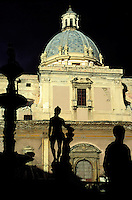 Pretoria Fountain - Palerme - Sicily -Italy