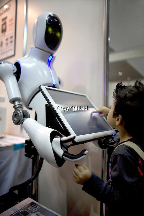 robot fair in Tokyo-Japan