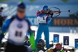 Alexander Loginov (RUS) during the Men 20 km Individual Competition at day 1 of IBU Biathlon World Cup 2019/20 Pokljuka, on January 23, 2020 in Rudno polje, Pokljuka, Pokljuka, Slovenia. Photo by Peter Podobnik / Sportida