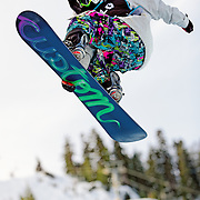 Japanese National Snowboard Team member Kazuumi Fujita competes during qualifying at the 2009 LG Snowboard FIS World Cup at Cypress Mountain, British Columbia, on February 16th, 2009. Fujita finished 14th in a field of 70.