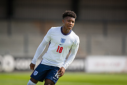 NEWPORT, WALES - Friday, September 3, 2021: England's Kian Pennant during an International Friendly Challenge match between Wales Under-18's and England Under-18's at Spytty Park. (Pic by David Rawcliffe/Propaganda)
