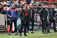 Bristol City manager Lee Johnson during the The FA Cup fourth round match between Bristol City and Bolton Wanderers at Ashton Gate, Bristol, England on 25 January 2019.