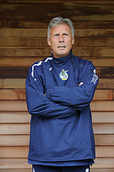 Bristol Rovers Manager, John Ward  - Photo mandatory by-line: Dougie Allward/JMP - Tel: Mobile: 07966 386802 07/09/2013 - SPORT - FOOTBALL -  Home Park - Plymouth - Plymouth Argyle V Bristol Rovers - Sky Bet League Two