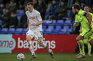 Jeff Hughes (Tranmere Rovers) during the Vanarama National League match between Tranmere Rovers and Southport at Prenton Park, Birkenhead, England on 6 February 2016. Photo by Mark P Doherty.