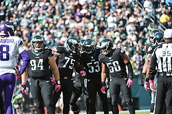 during the game at Lincoln Financial Field on Oct 23, 2016 in Philadelphia, Pa. (Photo by John Geliebter/Philadelphia Eagles)