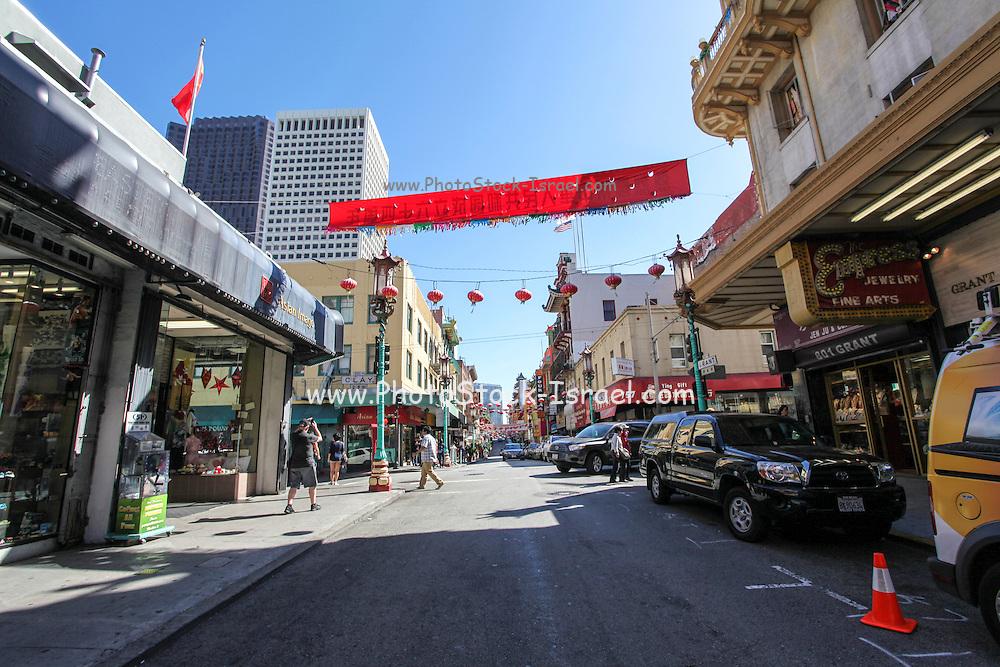 China Town, San Francisco, California, USA