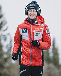 11.03.2020, Granasen, Trondheim, NOR, FIS Weltcup Skisprung, Raw Air, Trondheim, Herren, im Bild Clemens Aigner (AUT) // Clemens Aigner of Austria during men's 3rd Stage of the Raw Air Series of FIS Ski Jumping World Cup at the Granasen in Trondheim, Norway on 2020/03/11. EXPA Pictures © 2020, PhotoCredit: EXPA/ JFK
