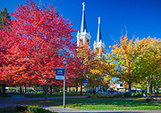 Statue of St Ignatius at Gonzaga University in Washington state