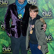 London, England, UK. 10th January 2018. Rufus Hound arrives at Cirque du Soleil OVO - UK premiere at Royal Albert Hall.
