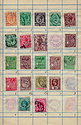 A collection of old stamps from Malta Philately is the study of postage stamps and postal history.