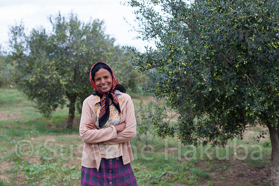 Cherifa.<br /> While not an activist as such she represents a strong rural Tunisian woman. Besides bringing up her two children and taking care of the domestic chores, she has always worked her husband's land and taken care of the family's livestock. She passionately believes in women & men being equal and in husband & wife taking decisions   together.