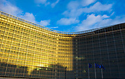 European Commission Building, Berlaymont, Schuman, Brussels, Belgium