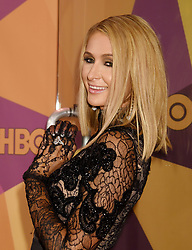 """Lena Dunham and Jennifer Konner at HBO's """"Golden Globe Awards"""" After Party held at the Beverly Hilton Hotel on January 7, 2018 in Beverly Hills, CA. Janet Gough/AFF-USA.com. 07 Jan 2018 Pictured: Paris Hilton. Photo credit: MEGA TheMegaAgency.com +1 888 505 6342"""
