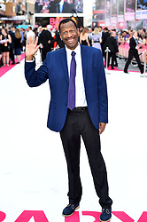 CJ Jones attending the Baby Driver premiere held at Cineworld in Leicester Square, London.
