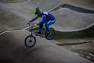 #100 (MAHIEU Romain) FRA at the 2016 UCI BMX Supercross World Cup in Manchester, United Kingdom<br /> <br /> A high res version of this image can be purchased for editorial, advertising and social media use on CraigDutton.com<br /> <br /> http://www.craigdutton.com/library/index.php?module=media&pId=100&category=gallery/cycling/bmx/SXWC_Manchester_2016