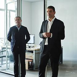 Paris, France. September 18, 2015. Jacques et Philippe der Megreditchian at Philippe's office near the parc Monceau. Photo: Antoine Doyen