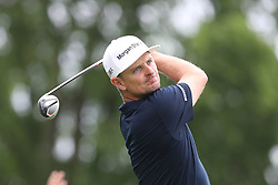 May 30, 2019 - Dublin, OH, U.S. - DUBLIN, OH - MAY 30: Justin Rose of England watches his tee shot during the first round of The Memorial Tournament on May 30th 2019  at Muirfield Village Golf Club in Dublin, OH. (Photo by Ian Johnson/Icon Sportswire) (Credit Image: © Ian Johnson/Icon SMI via ZUMA Press)