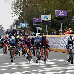 14-04-2021: Wielrennen: Brabantse Pijl women: Overijse: Ashleigh Moolman wint de pelotonsprint voor de zevende plaats