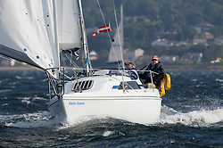 Largs Regatta Week 2015, hosted by Largs Sailing Club and Fairlie Yacht Club<br /> <br /> 9199C, Calm Down, Hunter Horizon 232, Grame Randall<br /> <br /> Credit Marc Turner