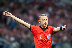July 11, 2018 - Moscow, Russia - 180711 Referee Cuneyt Cakir during the FIFA World Cup semi final match between Croatia and England on July 11, 2018 in Moscow..Photo: Petter Arvidson / BILDBYRÃ…N / kod PA / 92085 (Credit Image: © Petter Arvidson/Bildbyran via ZUMA Press)