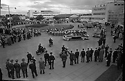 President John F. Kennedy arrives at Dublin Airport..26.06.1963.