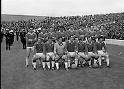 All Ireland Semi-Final, Meath v Galway.  Meath Team..09.08.1970
