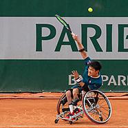 04/06 Wheelchair Tennis French Open Match 1