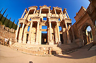 Picture of The library of Celsus. Images of the Roman ruins of Ephasus, Turkey. Stock Picture & Photo art prints 3 .<br /> <br /> If you prefer to buy from our ALAMY PHOTO LIBRARY  Collection visit : https://www.alamy.com/portfolio/paul-williams-funkystock/ephesus-celsus-library-turkey.html<br /> <br /> Visit our TURKEY PHOTO COLLECTIONS for more photos to download or buy as wall art prints https://funkystock.photoshelter.com/gallery-collection/3f-Pictures-of-Turkey-Turkey-Photos-Images-Fotos/C0000U.hJWkZxAbg