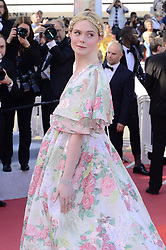 May 15, 2019 - WORLD RIGHTS.Cannes, France, 15.05.2019, 72th Cannes Film Festival in Cannes. The 72th edition of the film festival will run from May 14 to May 25. .''Les Miserables'' Red Carpet .NZ. Elle Fanning .Fot. Radoslaw Nawrocki/FORUM (FRANCE - Tags: ENTERTAINMENT; RED CARPET) (Credit Image: © FORUM via ZUMA Press)