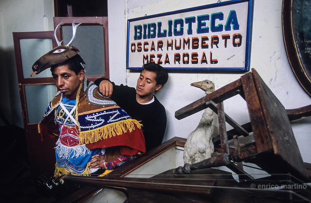 Totonicapàn, traditional Mayan holiday.