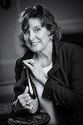 Author Catherine Grace, Friday 21 August 2015. Photograph by Jim Graham