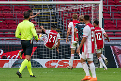 Lisandro Martinez of Ajax in action during eredivisie round 02 between Ajax and RKC at Johan Cruyff Arena on September 20, 2020 in Amsterdam, Netherlands
