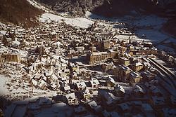THEMENBILD - Blick auf Engelberg, aufgenommen am 15. Dezember 2018 in Engelberg, Schweiz // View of Engelberg, Engelberg, Switzerland on 2018/12/15. EXPA Pictures © 2018, PhotoCredit: EXPA/ JFK