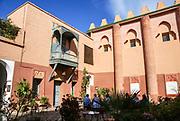 Exterior of the Marrakech Museum, Marrakesh, Morocco