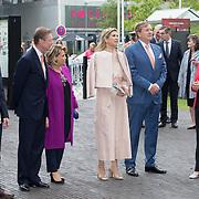 LUX/Luxembug/2 Maxima0180524 - Staatbezoek Luxemburg 2018 dag 2, aankomst Willem-Alexander en Maxima